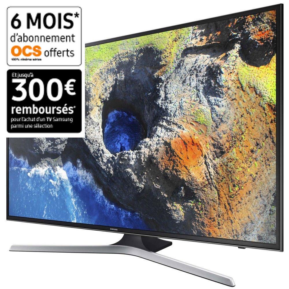 TV LED 40'' 100 cm UE40MU6105K - Noir