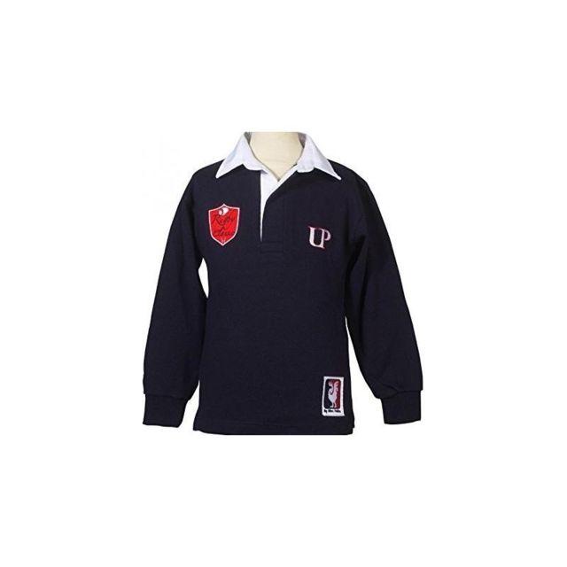 5e409c50c1ce1 Ultra Petita - Polo - Rugby classic blason Bleu - pas cher Achat   Vente Polo  enfant - RueDuCommerce