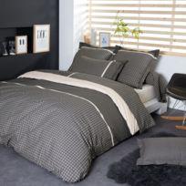 Linnea - Parure de lit 260x240 cm Percale pur coton Gatsby