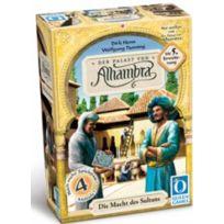 Queen Games - Jeux de société - Alhambra Extension N°5 : Le Pouvoir du Sultan