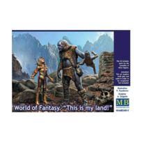 Master Box - Figurine : World of Fantasy - This is my land