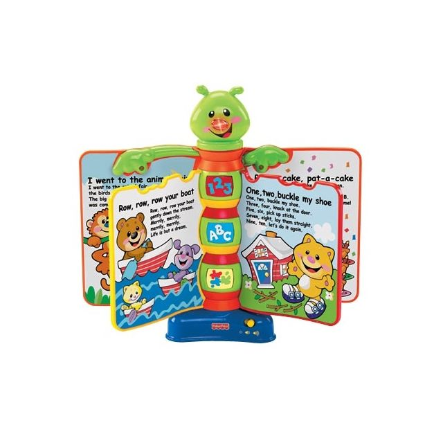 Fisher Price H8167 Livre Interactif De Comptines