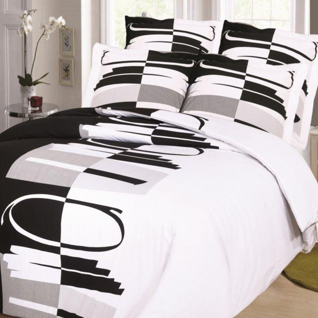 linge usine parure de draps pour lit de 160x200 cm multicolore 300cm x 240cm pas cher. Black Bedroom Furniture Sets. Home Design Ideas