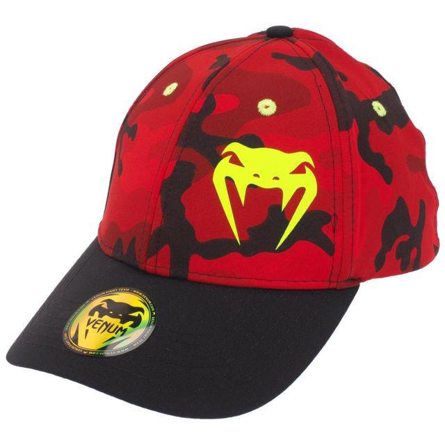 Venum - Casquette Atmo red camo cap Rouge 46099 L XL - pas cher ... a9c9811400f