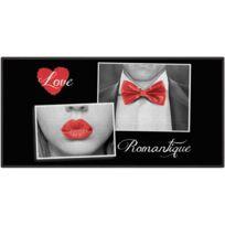 Promobo - Tapis Descente De Lit Déco Love Salle De Bain Cuisine Romantique 57x115cm