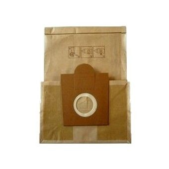 marque generique - paquet de 10 sacs papier leclerc cv 201   vente sacs