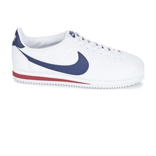 sports shoes efa1e b8d94 Nike - Chaussures Classic Cortez Leather White h16 - pas cher Achat   Vente  Baskets homme - RueDuCommerce