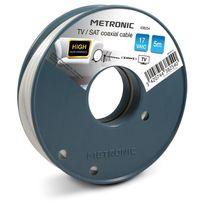 Metronic - Câble coaxial Tv / Sat 17 VatC 5 m