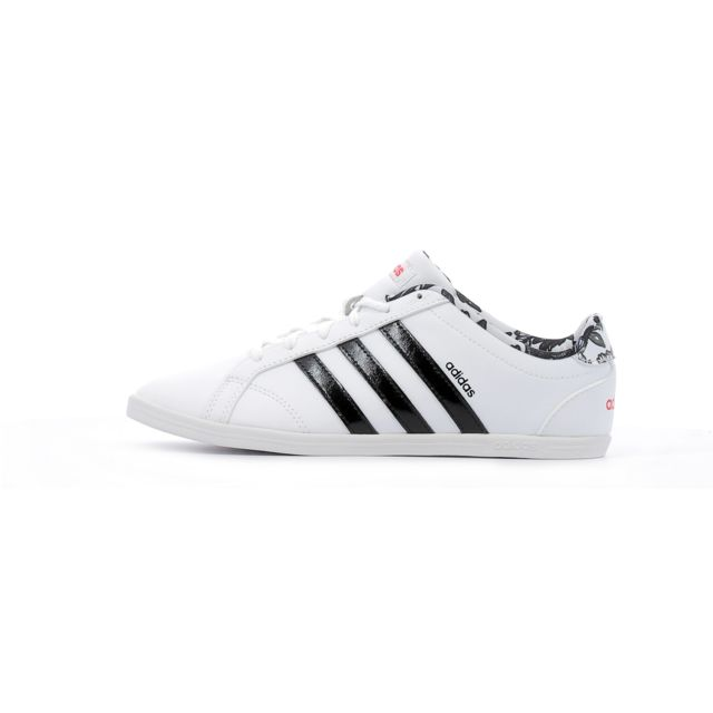 Adidas performance - Baskets basses Coneo Qt W Blanc - 36 ...