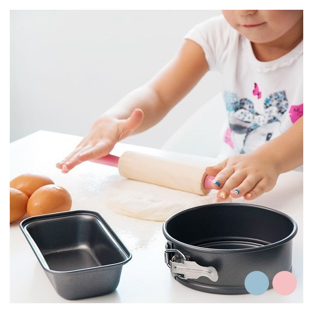 Totalcadeau Ustensiles et accessoires pâtisserie pour enfants Couleur - Bleu