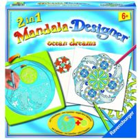 Ravensburger - Mandala Designer 2 en 1 : Océans