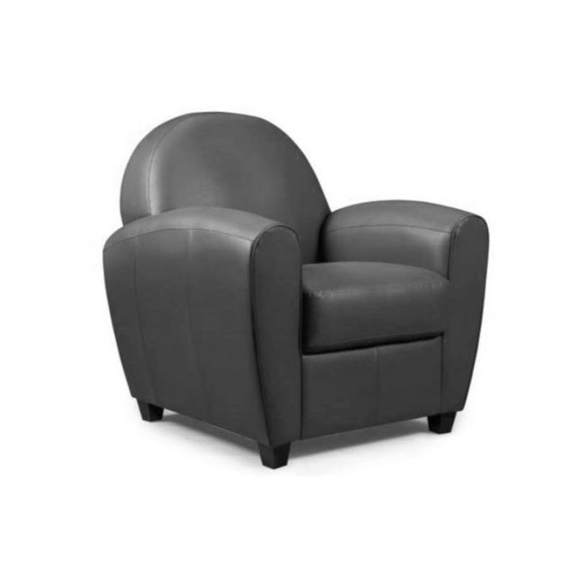 Inside 75 Fauteuil Club Bufallo gris anthracite