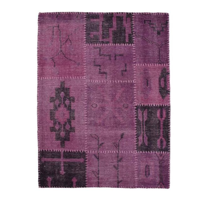 mon beau tapis tapis antic laine art 120x170cm prune pas cher achat vente tapis. Black Bedroom Furniture Sets. Home Design Ideas