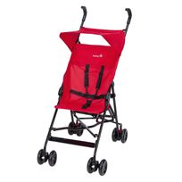 Poussette canne fixe Peps + canopy - Plain Red