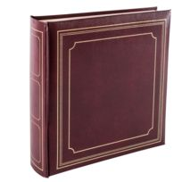 Panodia - Album photo pochette Empire bordeaux 200 photos 10x15 cm