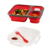lunch box bento achat lunch box bento pas cher rue du. Black Bedroom Furniture Sets. Home Design Ideas