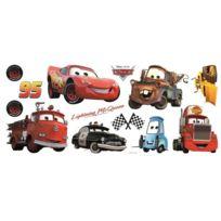 Crearreda - Stickers repositionnable multi éléments Cars Disney