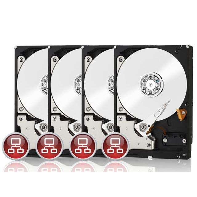 WESTERN DIGITAL - WD Red - 4 x 2 To Pack de 4