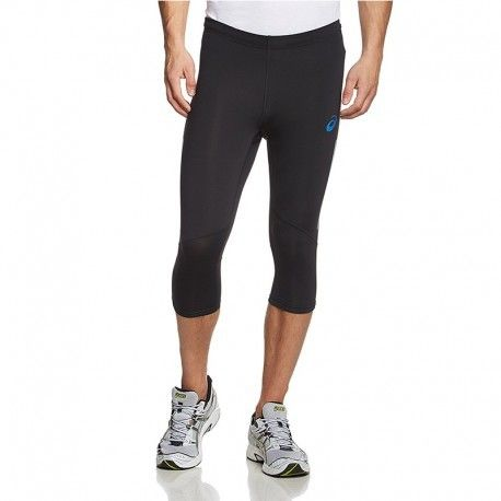 the latest ec7cb 00ce0 Asics - Pantacourt Legging Noir Adrenaline Kneetight Running Homme Asics