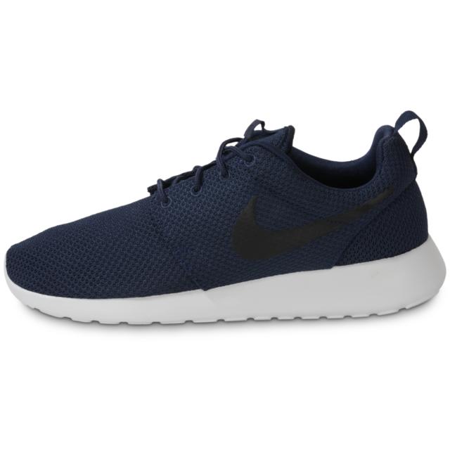 économiser 5d0e0 05a93 Nike - Roshe Run Bleu Marine - Running - pas cher Achat ...