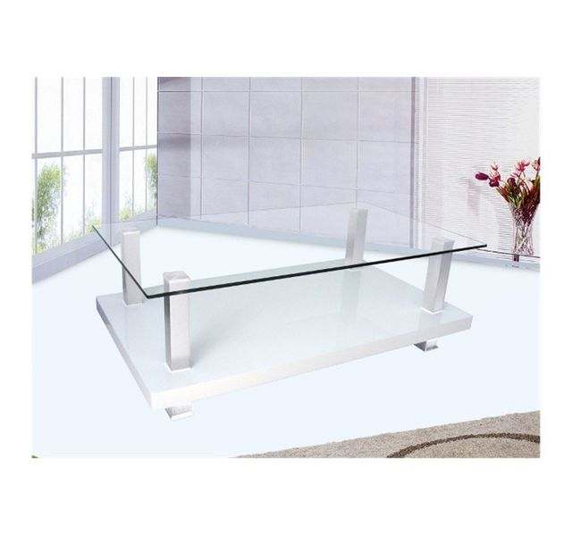 CHLOE DESIGN Table basse design Intenso - blanc