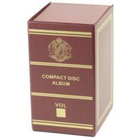 MAISON FUTEE - Boîte de rangement pour CD - Bordeaux