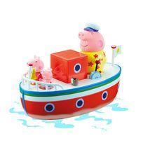 Giochi - Peppa Pig - Le bateau de Papy avec 3 figurines Peppa Pig