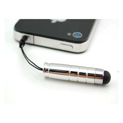 Lapinette - Mini Stylet Ecran Tactile Pour Htc One Mini - M4 - Gris