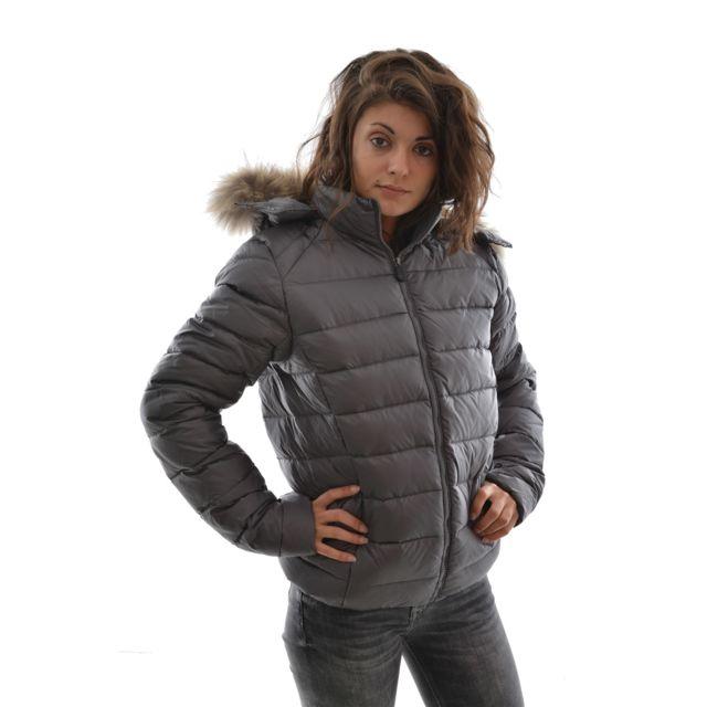 Jott - Doudounes doudoune prestige grand froid gris - pas cher Achat   Vente  Blouson femme - RueDuCommerce c6c423e08031