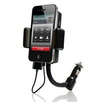 Yonis - Transmetteur Fm iPhone 4 4S 3G 3GS iPod support kit main libre