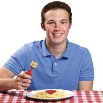 Totalcadeau - Fourchette à spaghetti à tête tournante automatique