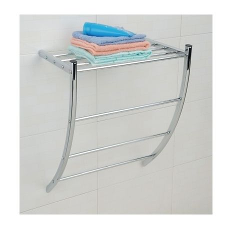 msv porte serviettes mural chrome pas cher achat vente porte serviettes rueducommerce. Black Bedroom Furniture Sets. Home Design Ideas