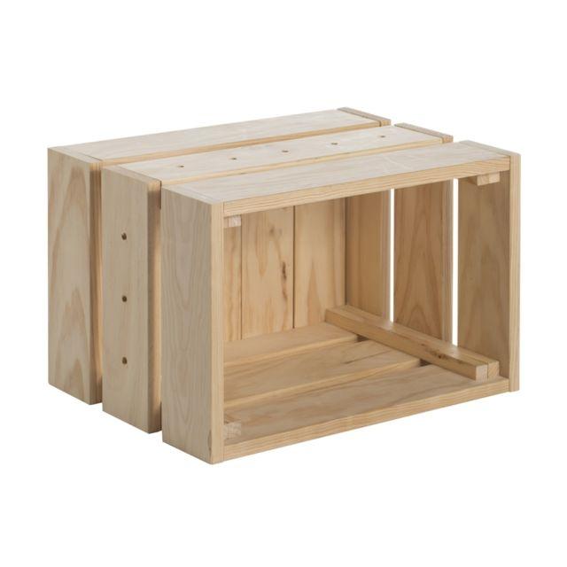 Caisse de rangement Home Box moyen modèle