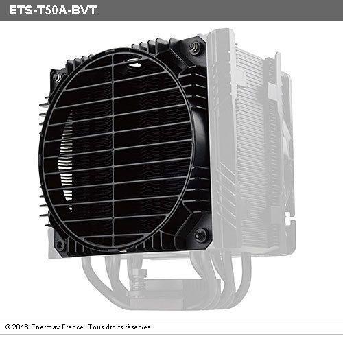 ENERMAX Ventirad pour processeur ETS-T50 AXE ETS-T50A-BVT