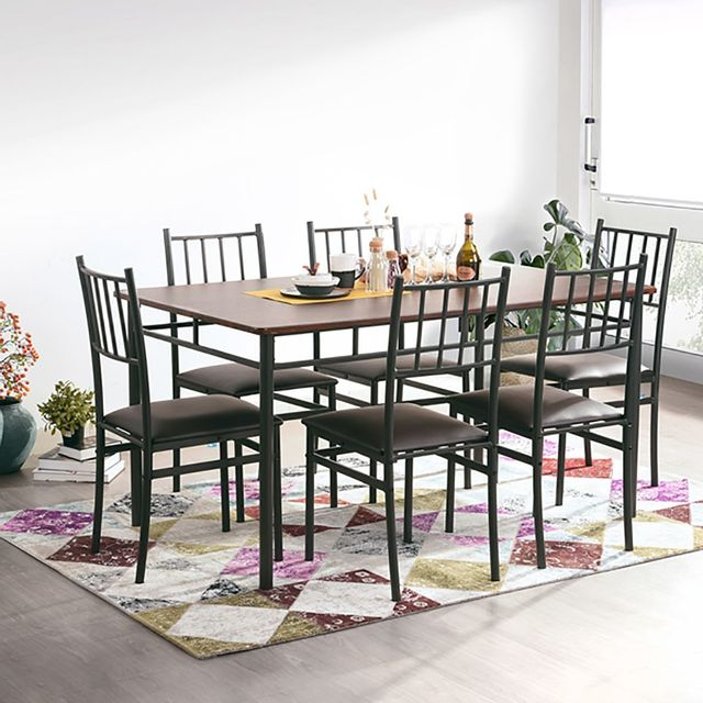 Altobuy Lupin Ensemble Table Et 6 Chaises Pas Cher Achat