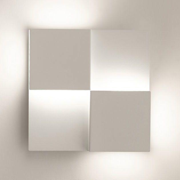philips applique murale led carr e avec interrupteur longueur 20cm date blanc pas cher achat. Black Bedroom Furniture Sets. Home Design Ideas