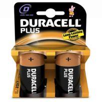 DURACELL - lot de 2 piles type lr20 1.5 volts - 10603
