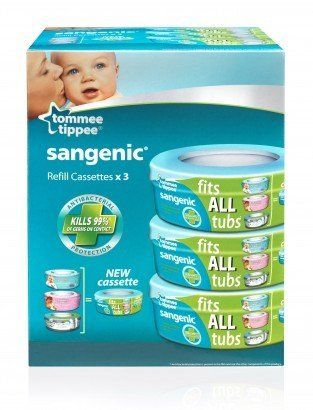 Sangenic multipack promo 3 recharges pour poubelle pas - Recharges pour poubelle a couches sangenic ...