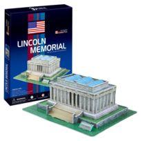 Cubicfun - Puzzle 3D 41 pièces : Lincoln Memorial, Wahington Dc