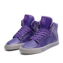 ec1409673020 Supra - Sneakers Femme Shoes wmns Vaider Purple   Lavender - White