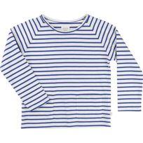 Carrement Beau - T-shirt bleu écru