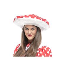- Chapeau champignon amanite rouge, adulte