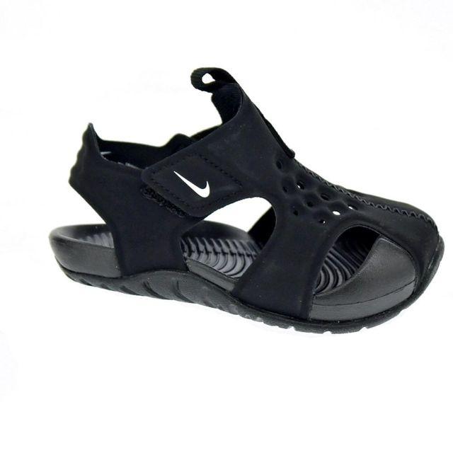 best service fa6ad f4807 Nike - Chaussures Garçon Tongs modele Sunray Protect 2 - pas cher Achat    Vente Sandales et tongs enfant - RueDuCommerce