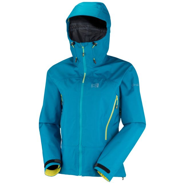 b2fffc688c8ae7 Millet - Veste Gore-tex Ld Kamet Gtx Bleu Femme - pas cher Achat   Vente  Blouson de ski - RueDuCommerce