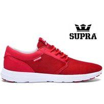 Supra - Hammer Run Cardinal rouge off white S55023