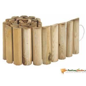 Jardipolys - Bordure de jardin en bois à derouler First - pas cher ...