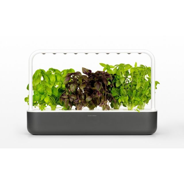 Click & Grow Click&Grow Smart Garden 9, Jardinière avec Led - Beige