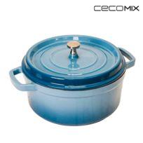 Cecomix - Cocotte Cobalt Mesure 24 cm