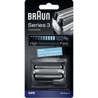 Braun - Grille + Couteau pour rasoirs Série 3 / 3090 Réf. P32S Coloris Silver