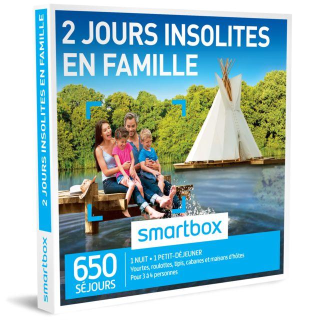 cb7862b525b Smartbox - 2 jours insolites en famille - Coffret Cadeau - pas cher ...